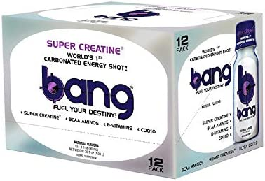 VPX Bang Shot World s First Carbonated Energy Shot Bangster Berry 24 3fl oz Shots