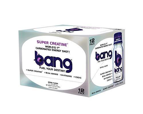 VPX Bang Shot World's First Carbonated Energy Shot Bangster Berry 24 (3fl oz) ()