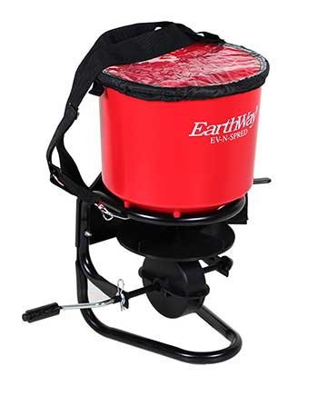 Earthway 3100 Professional Hand Crank Broadcast Spreader For Sale