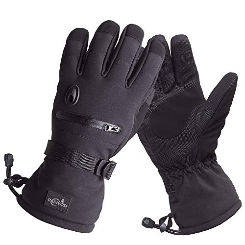 CAMYOD Waterproof Ski Snowboard Gloves with 3M Thinsulate