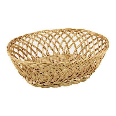 Oval Polyrattan Bread Basket - Polyrattan Bread Basket