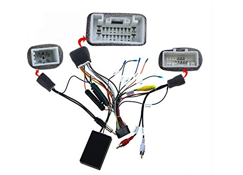 JOYING JY-C-TPRADO Wiring Harness Cable for Toyota Prado ONLY Fit JOYING  Head Unit with Canbus