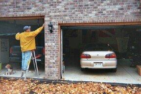 Garage Door Screen Standard With Zipper 18x8 Black