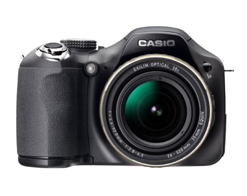 Casio EX-FH25 10.1MP High Speed Digital Camera with 20x Wide Angle Zoom with CMOS Shift Image Stabilization and 3.0 inch LCD (Card Casio Memory Digital)