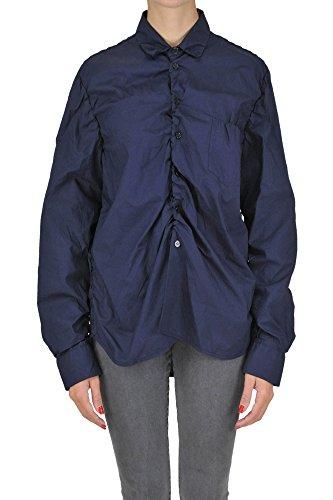 Marni Women's Mcgltpc03078e Blue Cotton Shirt Marni Women Dresses
