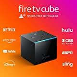 Fire TV Cube | Hands-free streaming device with