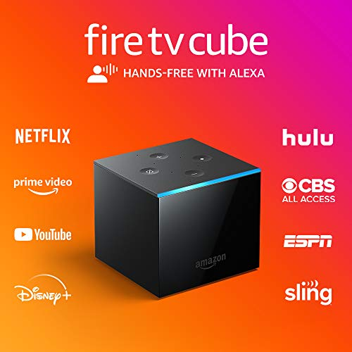 Fire TV Cube is hands-free with Alexa built in