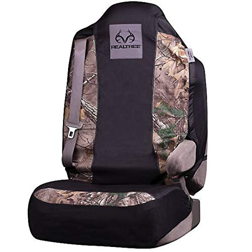 Realtree Camo Seat Cover Low Back Ap Cool Mint Single