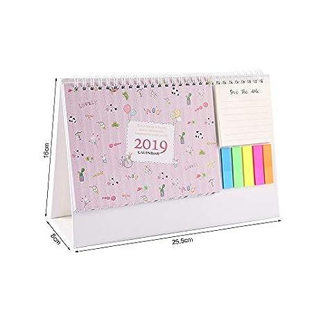 Mini Calendario.Leeq 2019 Mini Calendario De Computadora Para Lista De