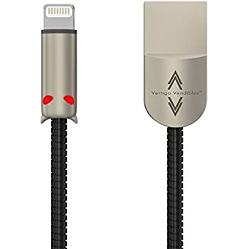 60%OFF BGT chew proof usb i5 iphone 5,6,7 ipad air, mini 2 and above data cable (not MFI, but it's better) - 3 pack - gold, silver, black