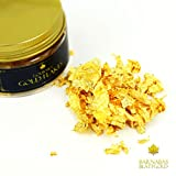 Edible Genuine Gold Leaf Flakes - by Barnabas