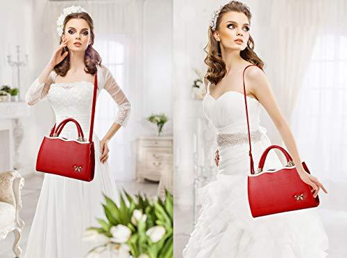 Pelle Borse Ufficio Donna Pu Lavoro Tote Sacchetto 92308 Spalla Mano Per A Borsa Capacità Exull Shopping Bag Grande Viaggio Shopper zvTzxP