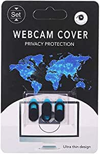 Webcam Privacy Cover, Ultra Thin Slider Design with Strong Adhesive, Suitable for Laptop, MacBook, MacBook Pro, MacBook Air, iPad, and Tablets (3 Pack)