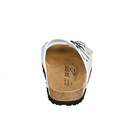 JOE N JOYCE Paris SynSoft sandals narrow White sGadT