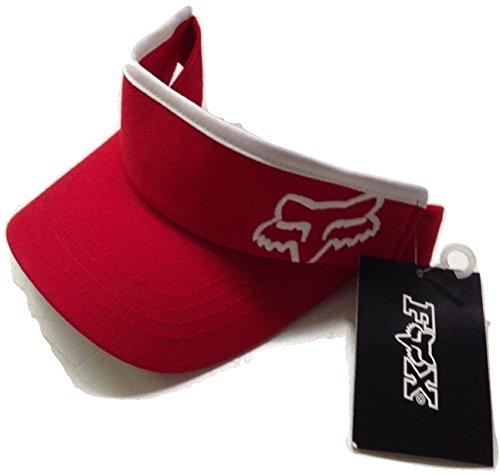 (Fox Racing 45 Adjustable Visor Cap Red/White Osfa)