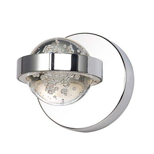 ET2 Lighting E30611-91PC Cosmo 1-Light Wall Sconce-PCB LED, Polished Chrome