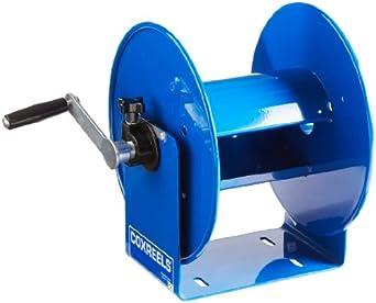 Coxreels Hand-Crank Steel Electrical Cord Storage Reel, Model# 112Y-8