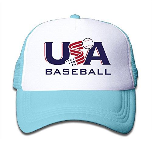 - Kid Usa Baseball Team Logo Classic Cap