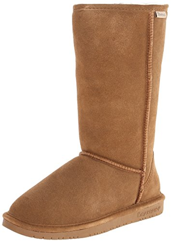 BEARPAW Women's Emma Tall Winter Boot, Hickory, 8 M US]()