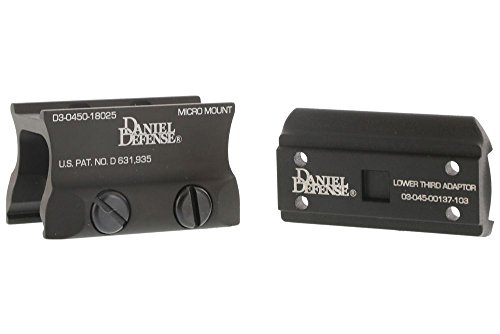 Daniel Defense Aimpoint Micro Mount w/ Spacer - 03-045-18025