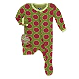 KicKee Pants Bamboo Solid Footie with Snaps