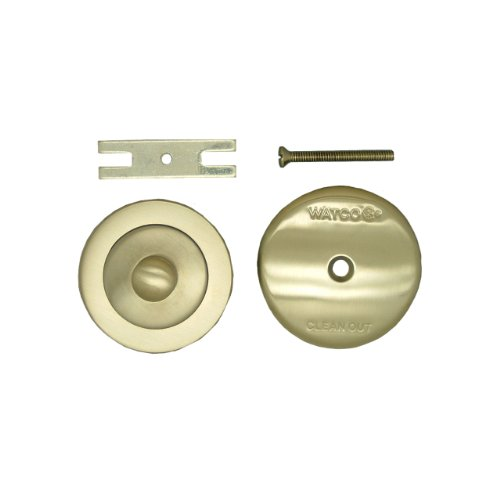 Waste Lift (Watco Manufacturing 48400-BN NuFit Lift and Turn Trim Kit, Brushed Nickel)