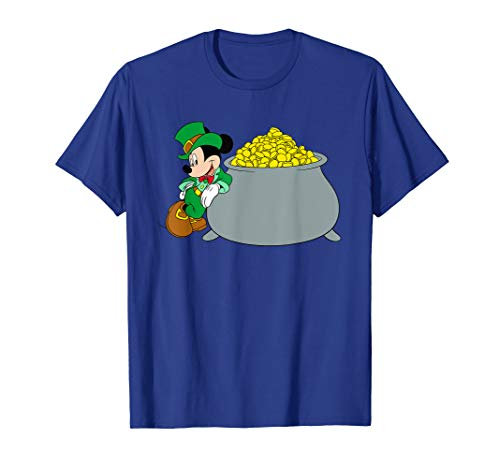 Disney Mickey Mouse St. Patrick's Day Pot of Gold T-Shirt