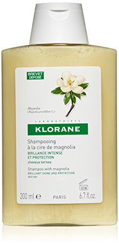 (Klorane Shine Enhancing Shampoo with Magnolia for Dry, Dull Hair, Paraben, SLS Free, 6.7 oz.)