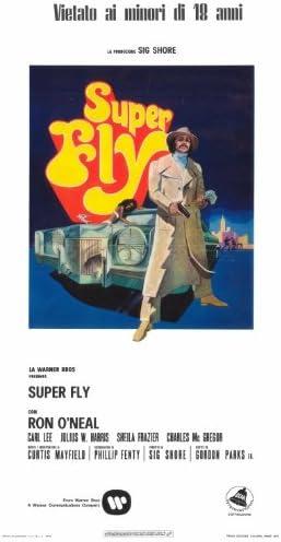 Superfly Póster de película italiana 27 x 40 en – 69 cm x 102 ...