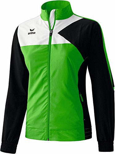 erima Anzug Premium One Präsentationsjacke - Prenda, color verde / negro / blanco, talla DE: 46