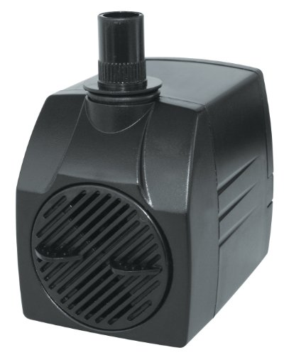 Danner 01727 SP-400 400 GPH Statuary Pond Pump with Barb Fittings (Danner Fountain Pump)