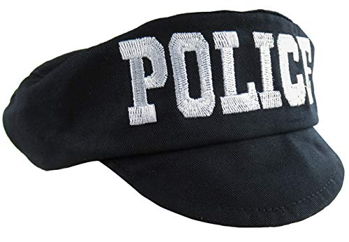 Mombebe Infant Baby Boys' Party Police Cop Hats (Police, 0-12 Months)]()