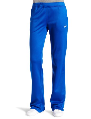 Speedo Womens Female Sonic Warm-Up Pant, Sapphire, - Ladies Warm Pant Up