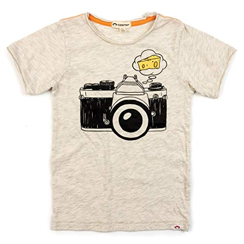 Appaman Say Cheese Graphic Tee | Cloud Heather