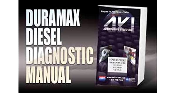 Amazon com: Duramax Diesel Diagnostic Manual: Everything Else