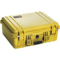 Pelican 1550 Camera Case With Foam (Yellow)