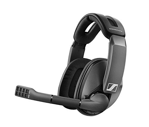 Sennheiser GSP 370 Over-Ear Wireless Gaming Headset, Low-Latency Bluetooth,Noise-Cancelling Mic, Flip-to-Mute, Audio...
