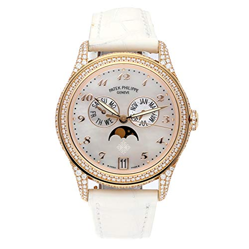 Patek Philippe Gold Dial - Patek Philippe Complications Mechanical (Automatic) Mother-of-Pearl Dial Womens Watch 4937R-001 (Certified Pre-Owned)