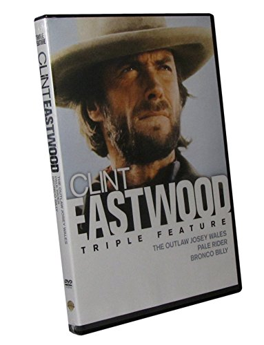 Clint Eastwood in The Outlaw Josey Wales, Pale Rider and Bronco Billy - 3 Clint Eastwood Western Films