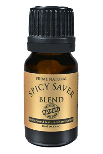 Immunity Essential Oil - Spicy Saver Blend 10ml - Cold Cough Flu Toothache Natural Remedy - Pure Undiluted Therapeutic Grade for Aromatherapy Scents & Diffuser Air Freshener Boost Immunity Allergy