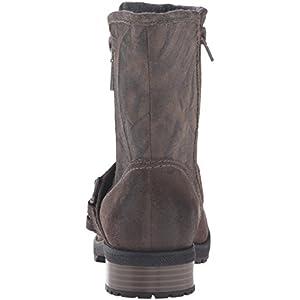 Clarks Women's Faralyn Rise Boot, Khaki Suede, 8.5 M US