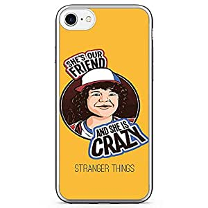 Loud Universe She is crazy Dustin iPhone 7 Case Stranger Things iPhone 7 Cover with Transparent Edges