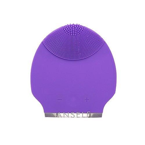 Silicone personnels Rechargeable Mini ultrasonique Instrument Super Facial nettoyant visage soins esthétiques