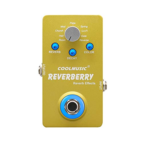 Coolmusic A-RE01 True Bypass Digital Reverb Pedal with for sale  Delivered anywhere in USA