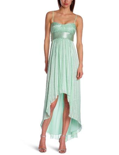 Alicia Dress (BCBG MAXAZRIA Alicia Silk Opaline Green Charmeuse Sash Gown LUB6W261)