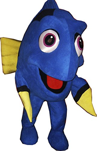 Dory Finding Nemo Mascot Costume Adult Cartoon Character Costume -