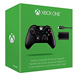 Xbox One Wireless Controller and Play & Charge Kit (Without 3.5 millimeter headset jack)