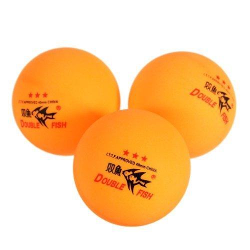 Nabati NEUF 3pcs double Poisson Approuvé par ITTF 3-stars Balles de ping-pong 40mm pour Correspondre