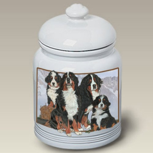 Bernese Mountain Dogs- Best of Breed Treat Jars