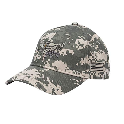 Baseball hat with SWAT Operator Insignia - ACU Pattern -